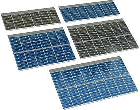 3D model Solar cell panel