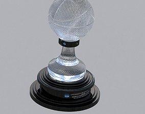 3D model NABC NCAA National Basketball Championship Trophy