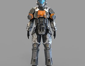 3D print model Halo ODST Armor Wearble Highpoly