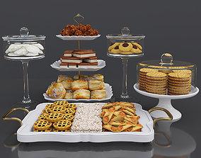 3D model Cookie dessert