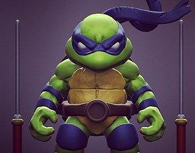 3D printable model Chibi mutant ninja turtles - Leo Sample