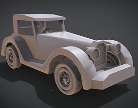 Toy car child 3D printable model