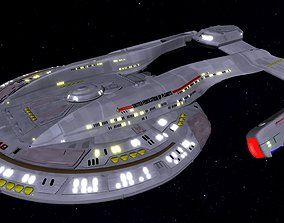 STAR TREK - AKIRA NCC-63549 STARSHIP 3D asset