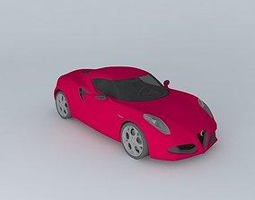 3D model 2011 Alfa Romeo 4C Concept