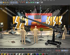 3D Tiswas TV Studio