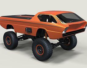 3D Dodge Deora offroad version