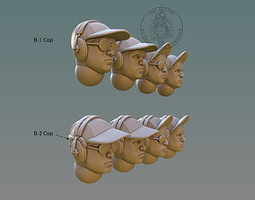 Pilot Head With B-Cap 3D print model