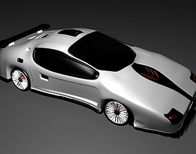 fast 3D model car sport