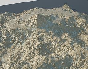 3D Rocky Desert Terrain