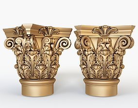 Classical Column for cnc 3D