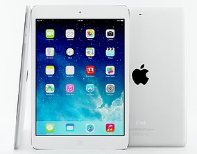 3D Apple iPad Air and Mini 2 Silver Space gray