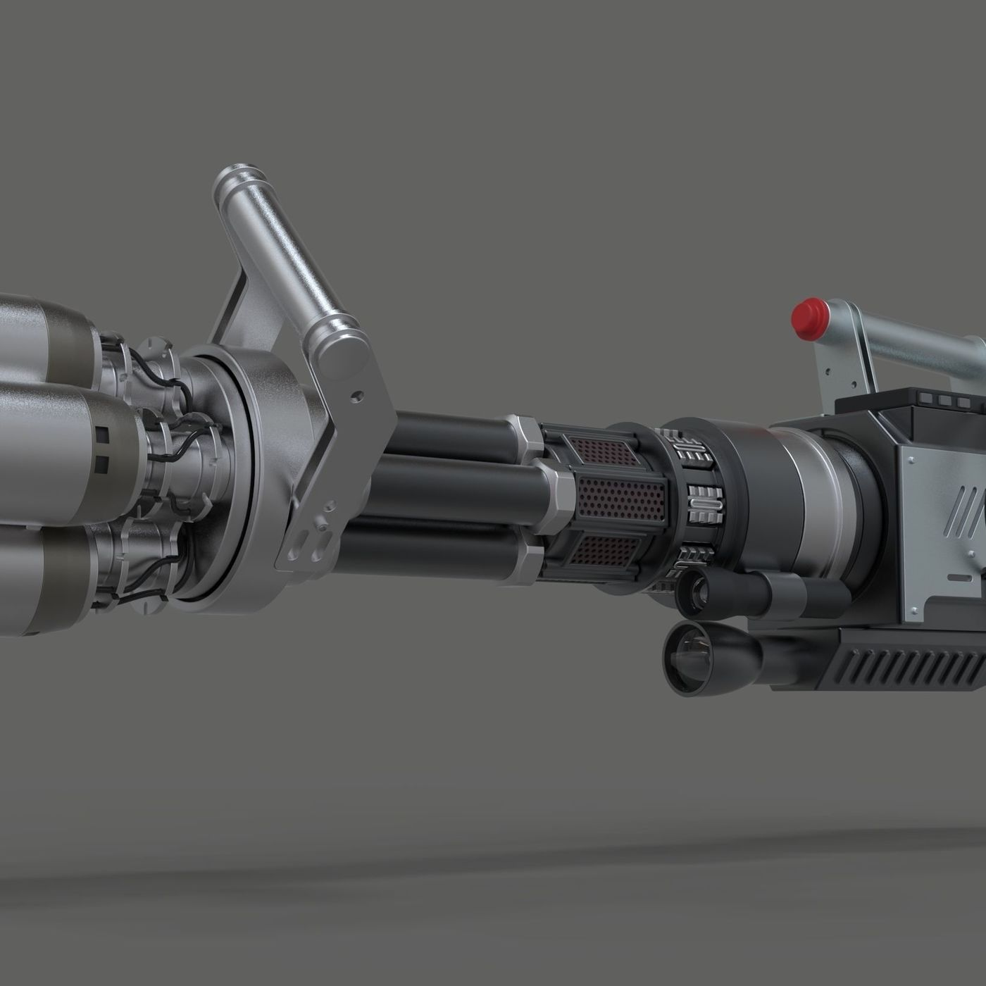 Light cannon from Pixels