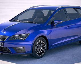 Seat Leon ST 2019 3D model