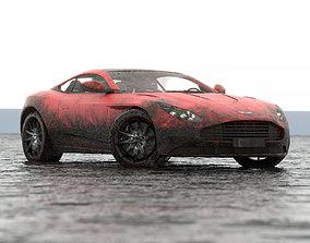 Aston Martin DB11 3D asset game-ready