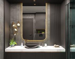 Modern Luxury Bathroom 3D model