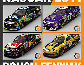 Nascar 2011 Roush Fenway Racing Cars ford 3D