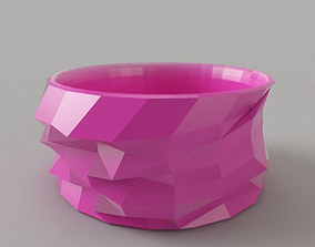 Bangle LowPoly 3D printable model