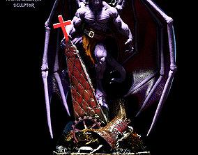 demon Goliath gargoyles fan art 3D print model