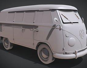 Volkswagen Type 2 Kombi T1 1967 3D print model