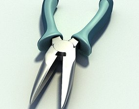 Needle nosed pliers 3D