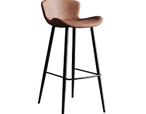 Bar Stool Chair 126 3D model