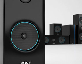 sony home theater 3D asset