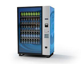 Blue Vending Machine 3D