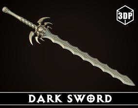 Dark Sword 3D print model