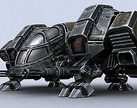 Sci-Fi Dropships collection 3D model