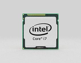3D model Intel Core i7
