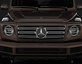 3D model Mercedes-Benz G 500 W464 2018