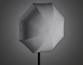 3D asset HLW - Production Light Stand 02 - PBR Game Ready