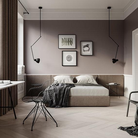 Bedroom scene 2
