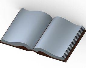 3D printable model Open Book book