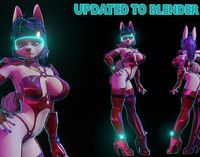 Furry Bunny NSFW 3D model