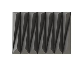 3D Wall Panel Triangular