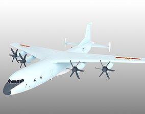 Shaanxi Y-9 Y9 yun9 yun-9 Transport 3D model
