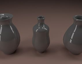 pitcher 3D model Ceramic jugs 1