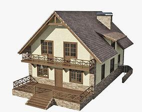 construction Cottage 3D model