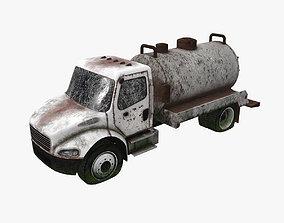 3D asset Old Truck 04