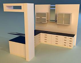 Kitchen regions 3D model