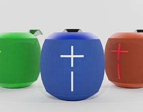 Speaker Logitech Colors - Blender 3d subwoofer