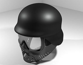 3D model Paintball Facemask - Type 5