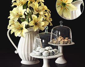 flower set 2 3D model
