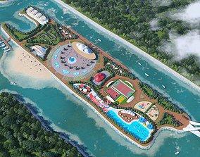 3D Amusement Park 01