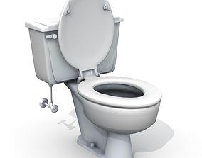 Vintage Toilet 3D