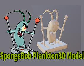 Plankton from SpongeBob 3d printer model plankton