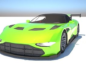 tire Aston Martin Vulcan - Custom 3D model