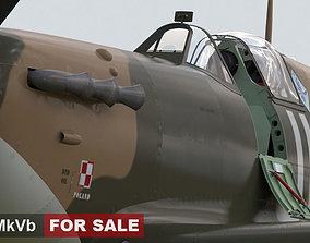 Spitfire MkVb britain 3D