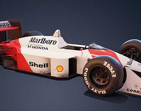 3D McLaren Mp-4 4
